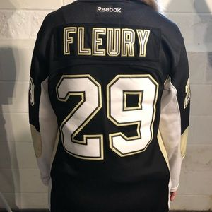 Pittsburgh penguins Fleury jersey